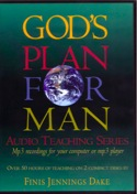 God's Plan For Man - MP3 CD