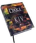 Dake KJV Large Print Hardcover (10 pt type, 8.75 x 10.75 dim.) (CONDITION:NEW)