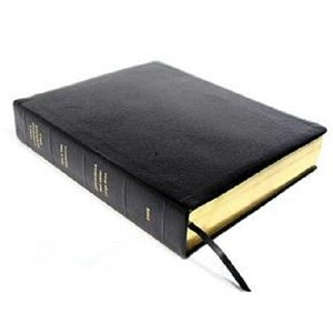Dake KJV Large Print Black Bonded Leather