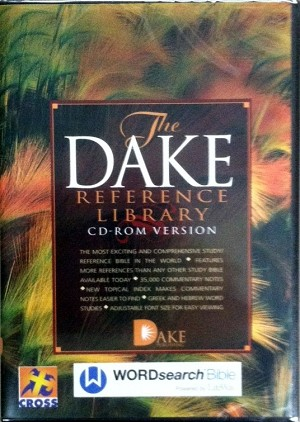 Dake Reference Library - WORDsearch 12 (Mac and PC) Software USB